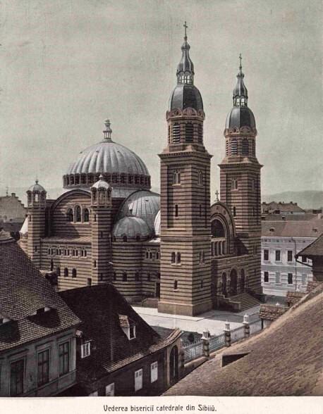 Sibiu Catedrala LUCEAFARUL n 9 10 1906 coperta