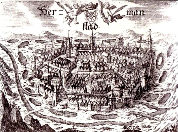 Sibiu, în 1614