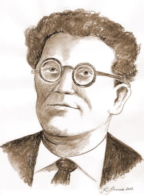 George Sidorovici - desen de Radu Bercea