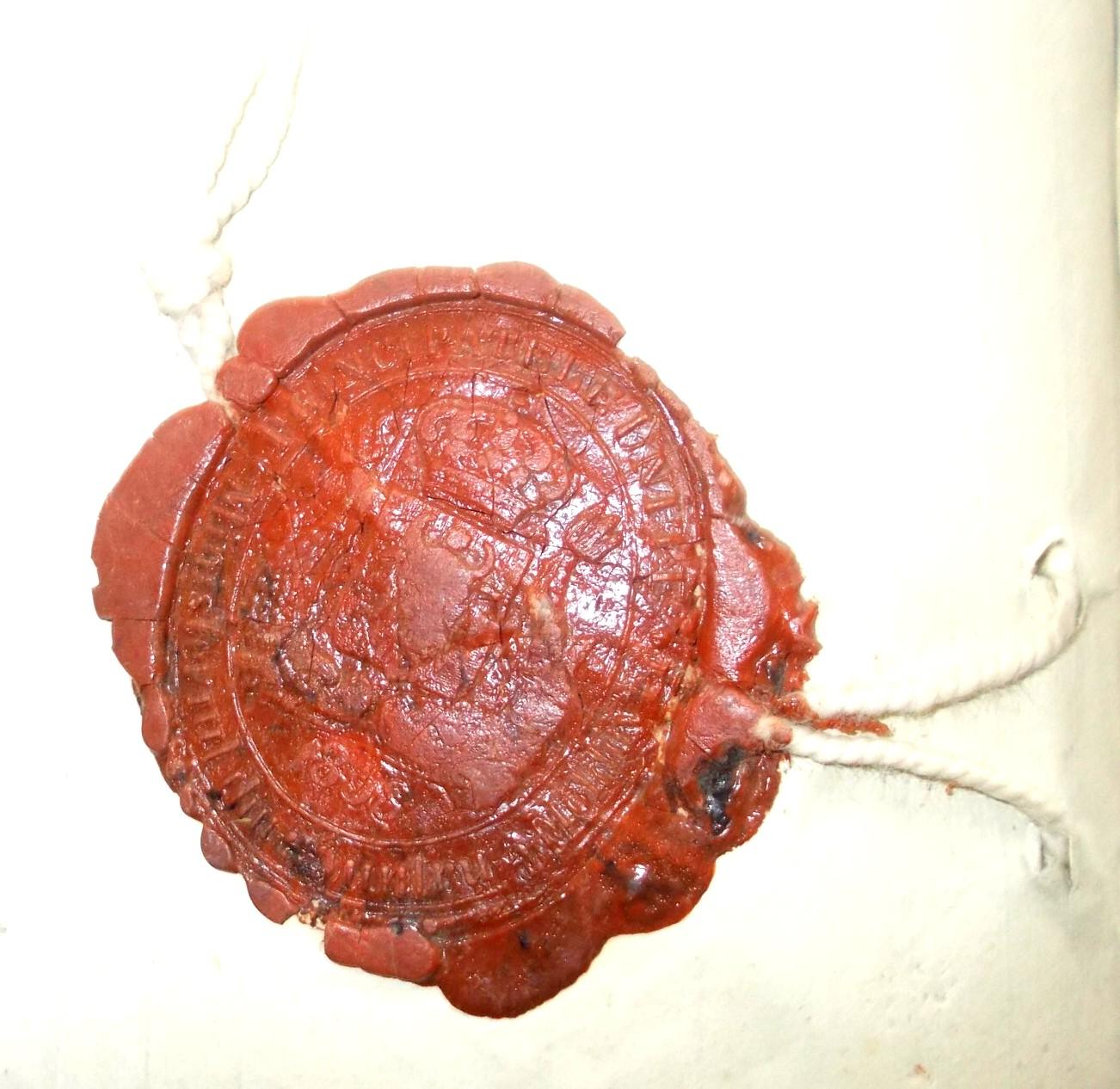 Sigiliu rosu Plopeni 2