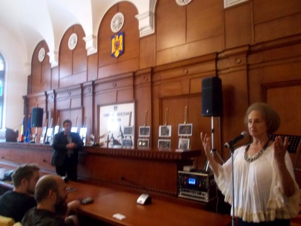 Poezia, Sofia şi trei spectatori emoţionaţi: Cătălin, Mihnea şi Andi