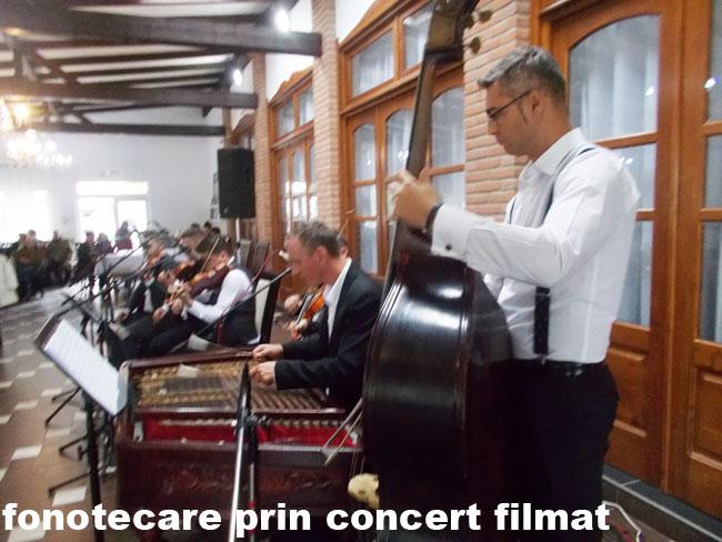 Solca Fonotecare prin concert filmat