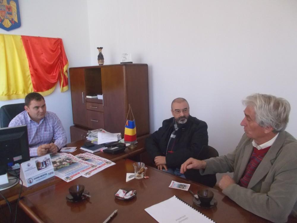 Cornel Tehaniuc, Tiberiu Cosovan şi Valeruţ Ţăranu-Hofnăr