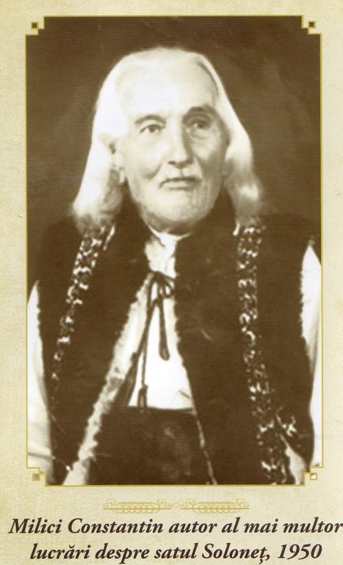 Solonet Constantin Milici