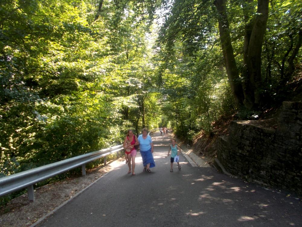 Urcând spre Cetatea Neamţului