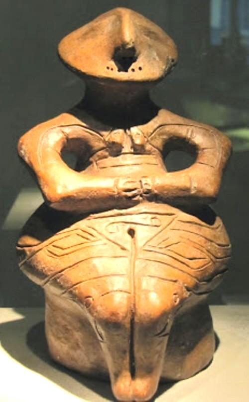 """""""Omul vechi"""", în reprezentare pre-neolitică"""