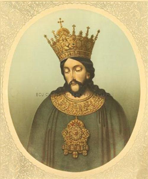 Ștefan cel Mare, portret imaginat de Carol Pap de Szathmari