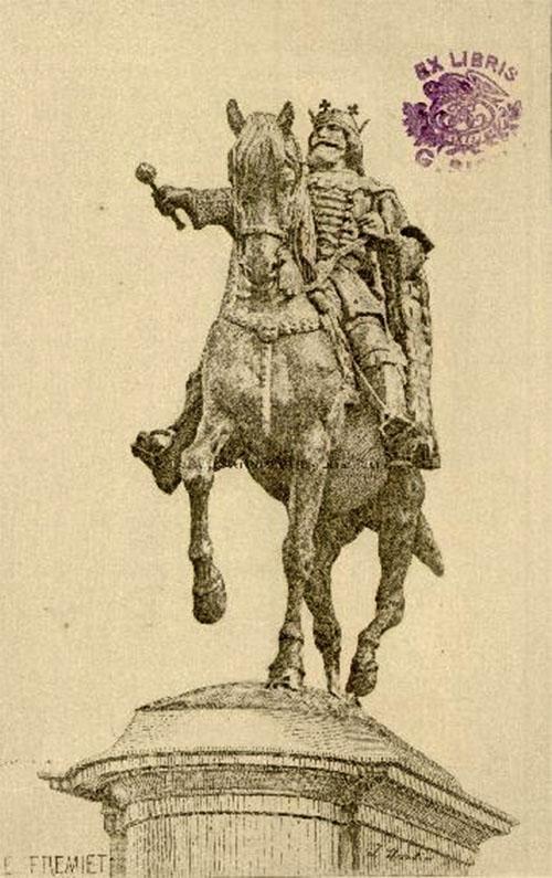 Ștefan cel Mare, imaginat de Emmanuel Fremiet