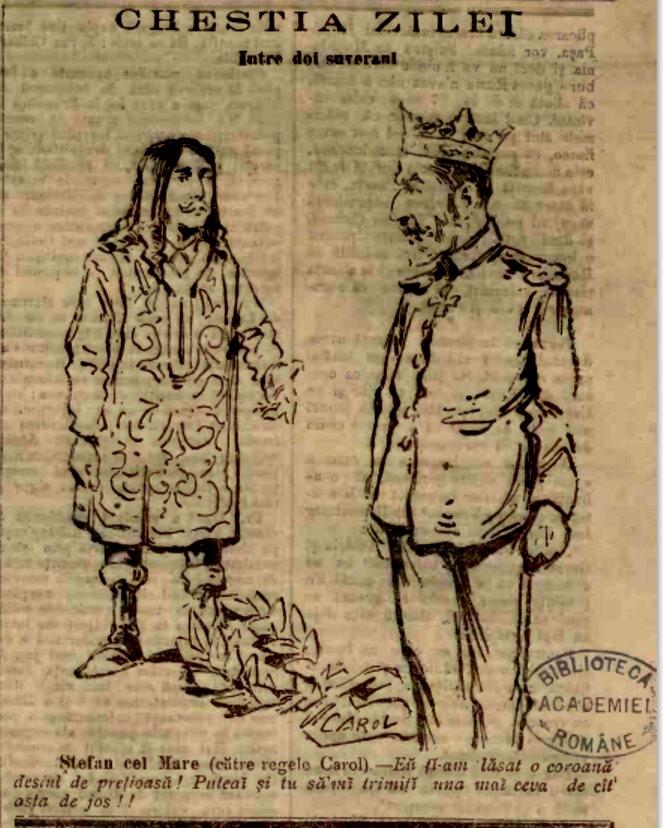 Stefan si Carol ADEVARUL nr 5360 1904