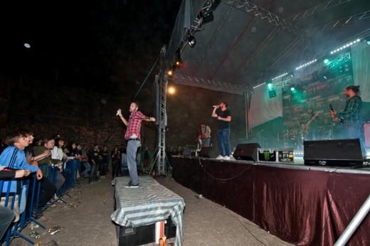 Super-spectaculosul Balint Csongor şi trupa maghiară Subscribe - fotografie de Victor T. Rusu