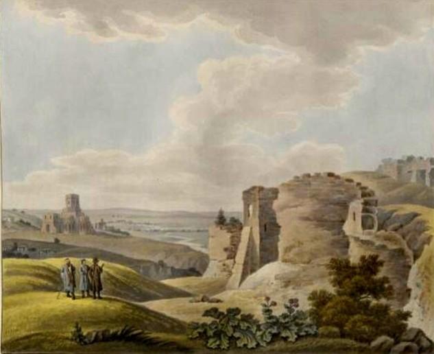 Suceava, în 1807, văzută de pictorul Franz Jaschke