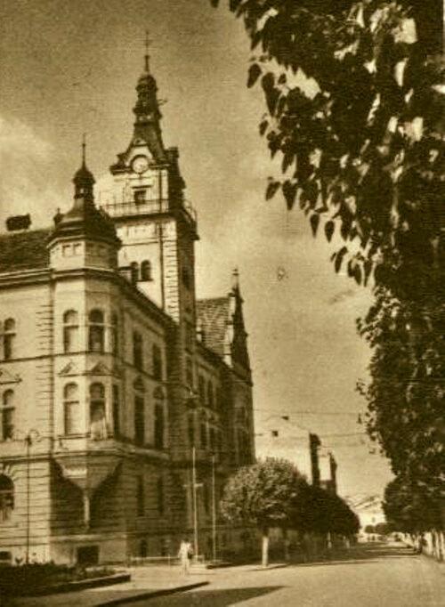Suceava, Primăria lui Franz cavaler Des Loges