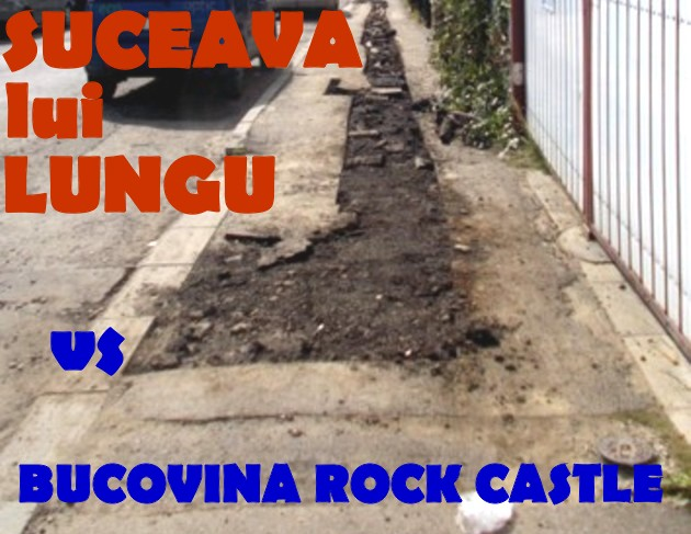 """Suceava lui Lungu, un """"oraş european"""" tip periferia Prelipcăi"""