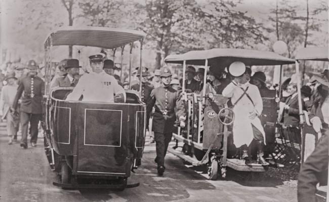 GALLICA: Suveranii României, la Expozitia din Wembley, în 14 mai 1924