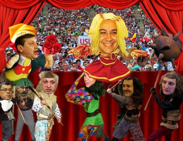 Victor Ponta: Degeaba îmi dai trandafiri, dacă nu renunţi la Cotroceni!