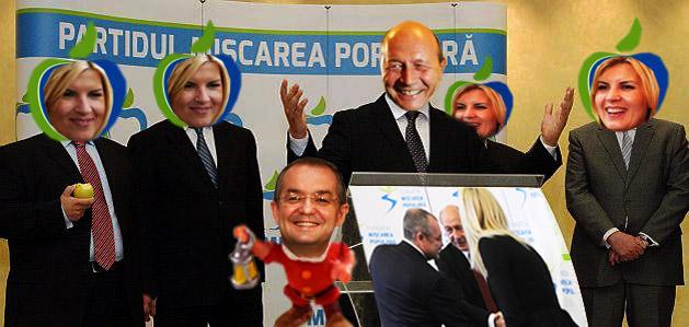 Emil Boc: Dom' Preşedinte, la noi e putred mărul!