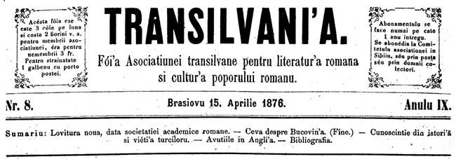 TRANSILVANIA 1876 II