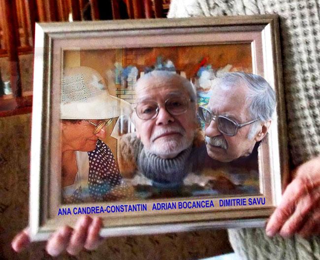 Tabloul cu Seniori ai Artelor
