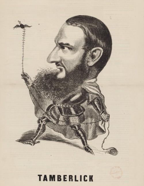 Tamberlick desen de Firmin Gillot
