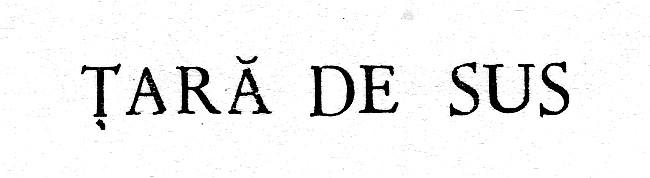 Tara de Sus