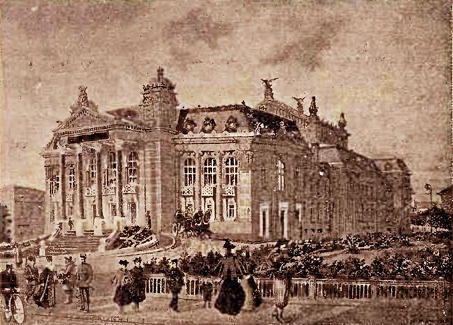 Teatrul Naţional din Iaşi, în anul 1899 - Calendarul MINERVA