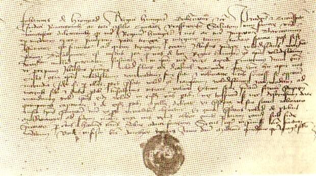 Fotocopia scrisorii de mai sus