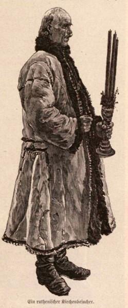 Tipologie ruteană: La biserică, p. 401
