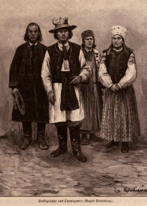 Tipologii galiţiene din zona Stanislau, p. 419