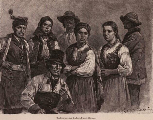Tipologii gurale din ţinutul Krakowiei, p- 279