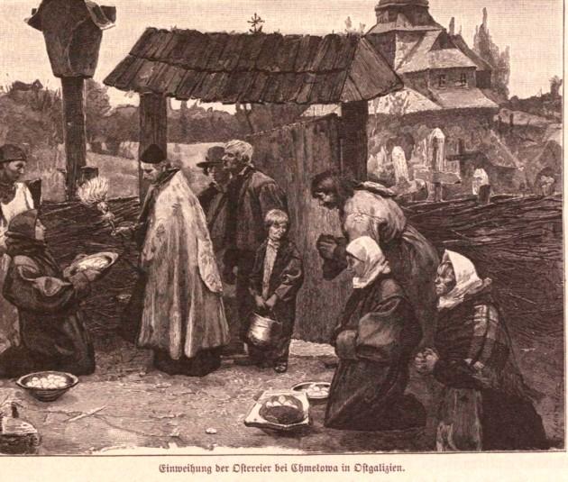Tipologii rutene: Paştele, lângă Hmelova, p. 459