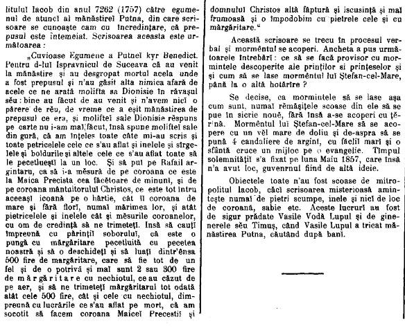 Tribuna 1904 Mormantul lui Stefan cel Mare 2