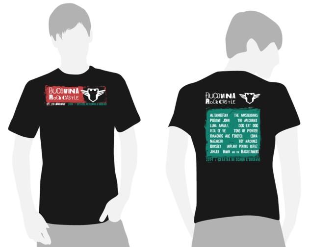 Modelul de tricouri propus de Lucian Francisc Csibi, de la RELATIVE