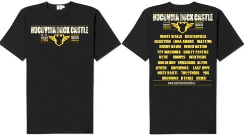 Tricouri ROCK CASTLE