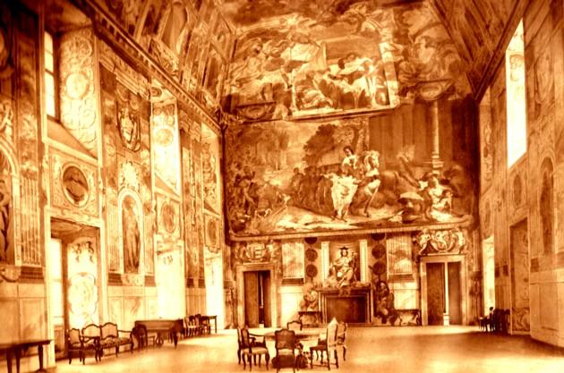 Troja, interior