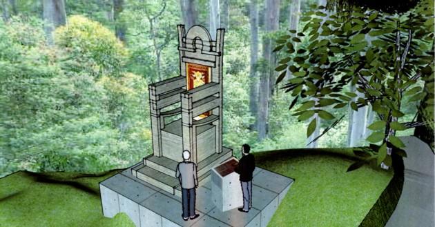 Alt unghi de expunere al posibilului monument de la Cetate