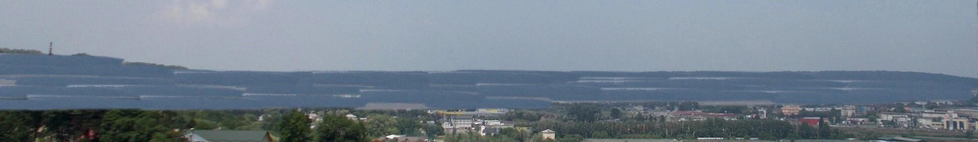 Dealul prăbuşit, odată cu scufundarea lacului Zânei