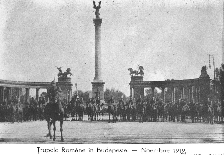 Trupe române în Budapesta