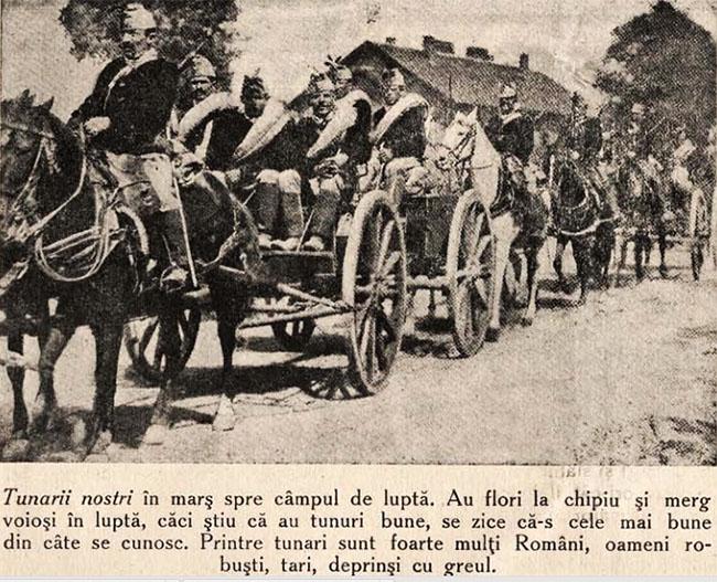 Tunarii noștri - Cosânzeana din 30 august 1914