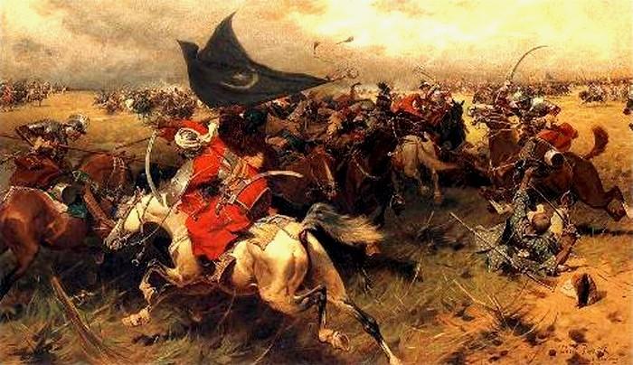 Începutul bătăliei, la Hotin