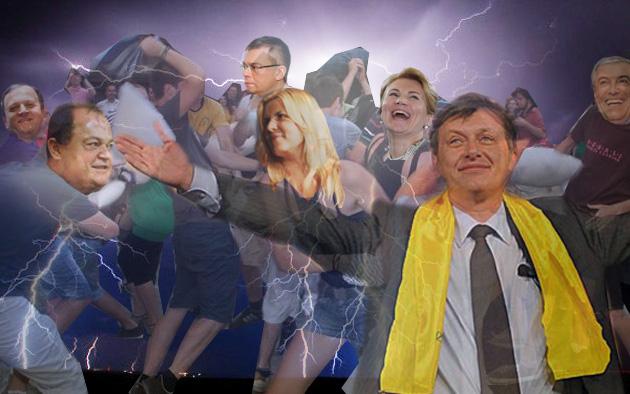 Elena Udrea: Fraţilor, e scris pe trădător unire!