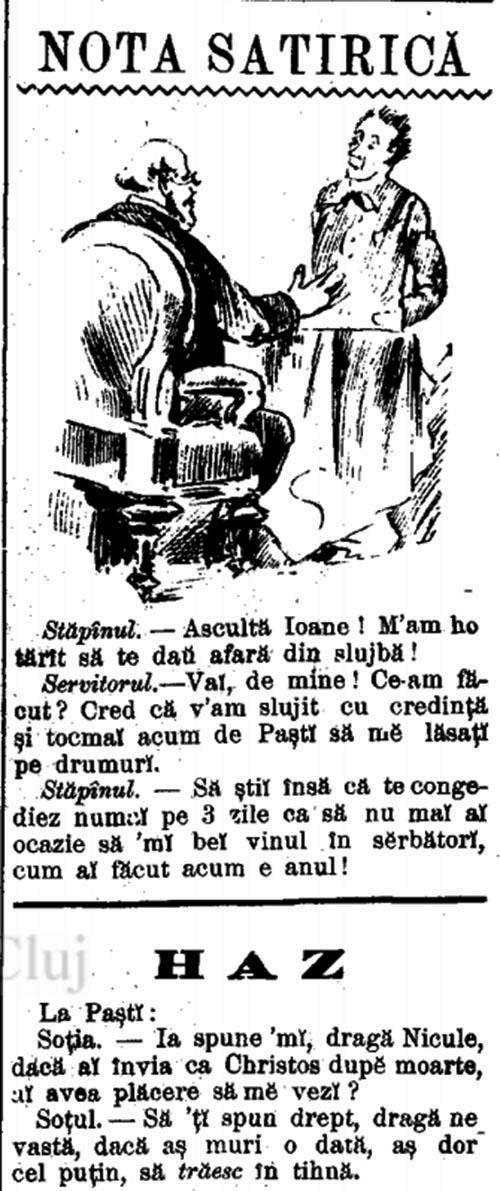 Umor pascal Universul literar 1895