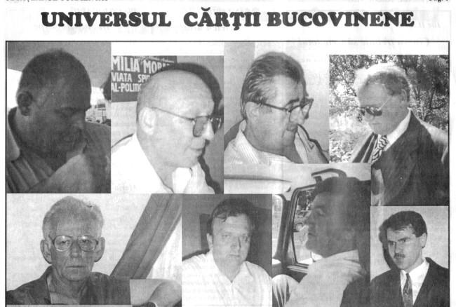 Mihai Unguraşu, Nicolae Cârlan, Ioan Cocuz, Teodor Hauca, George Damian, Gheorghe Flutur, Mircea Motrici şi Ioan Iftode