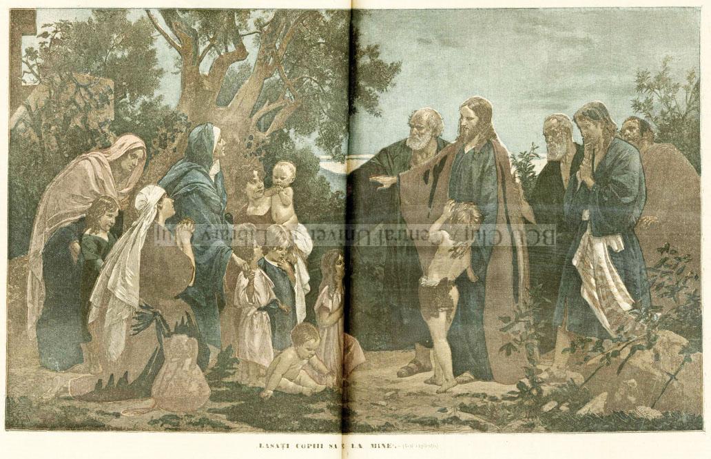 Universul literar 1894 Lasati copiii