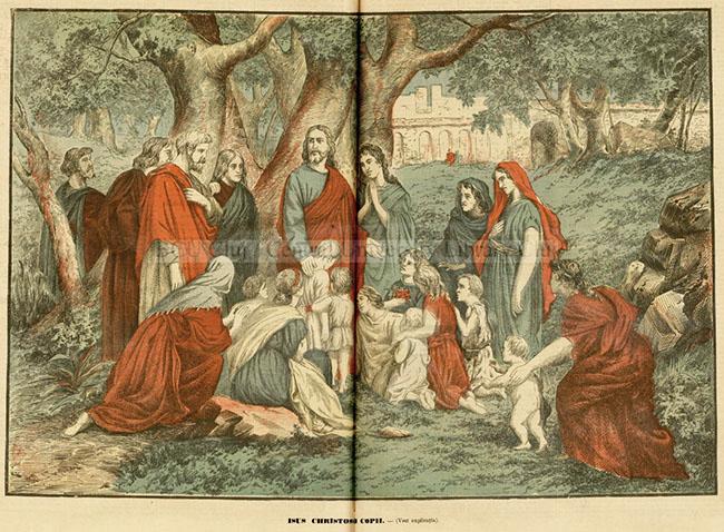 Universul literar 1895 Iisus si copiii