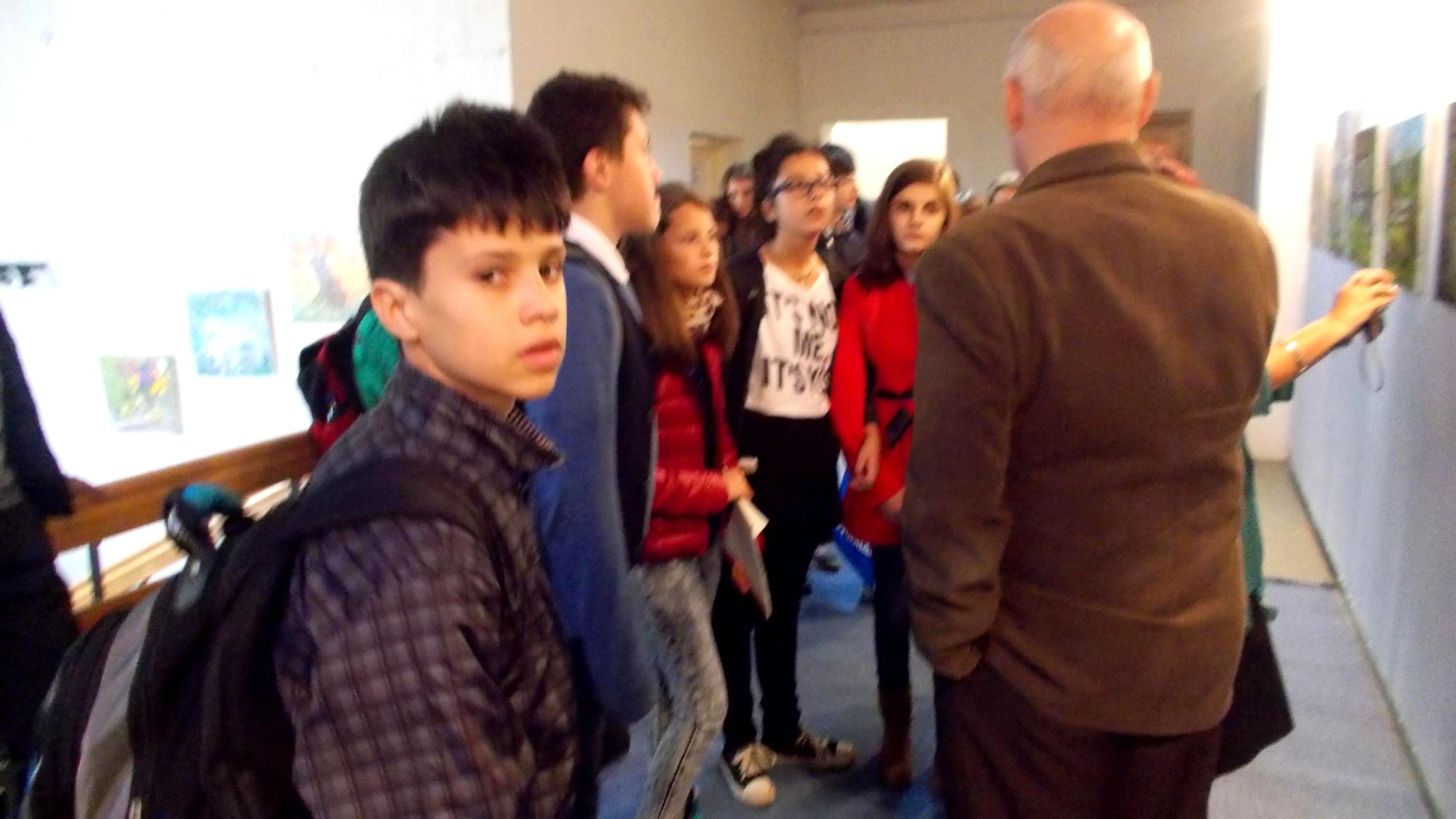 Ioan Bodnar, în dialog cu copiii