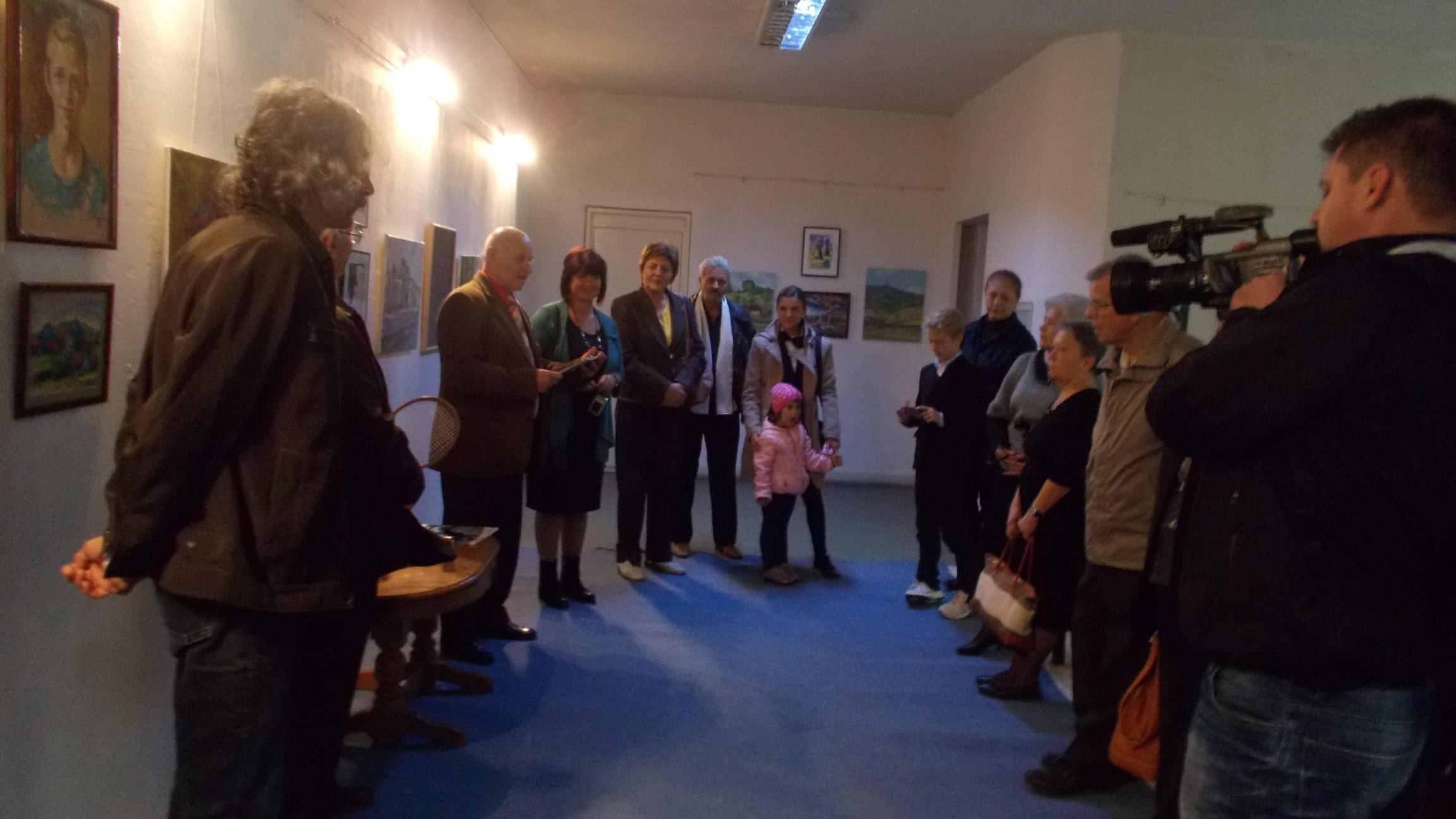"""Vernisajul expoziţiei Taberei Internaţionale de Pictură """"Bucovina - trecut, prezent şi viitor"""""""