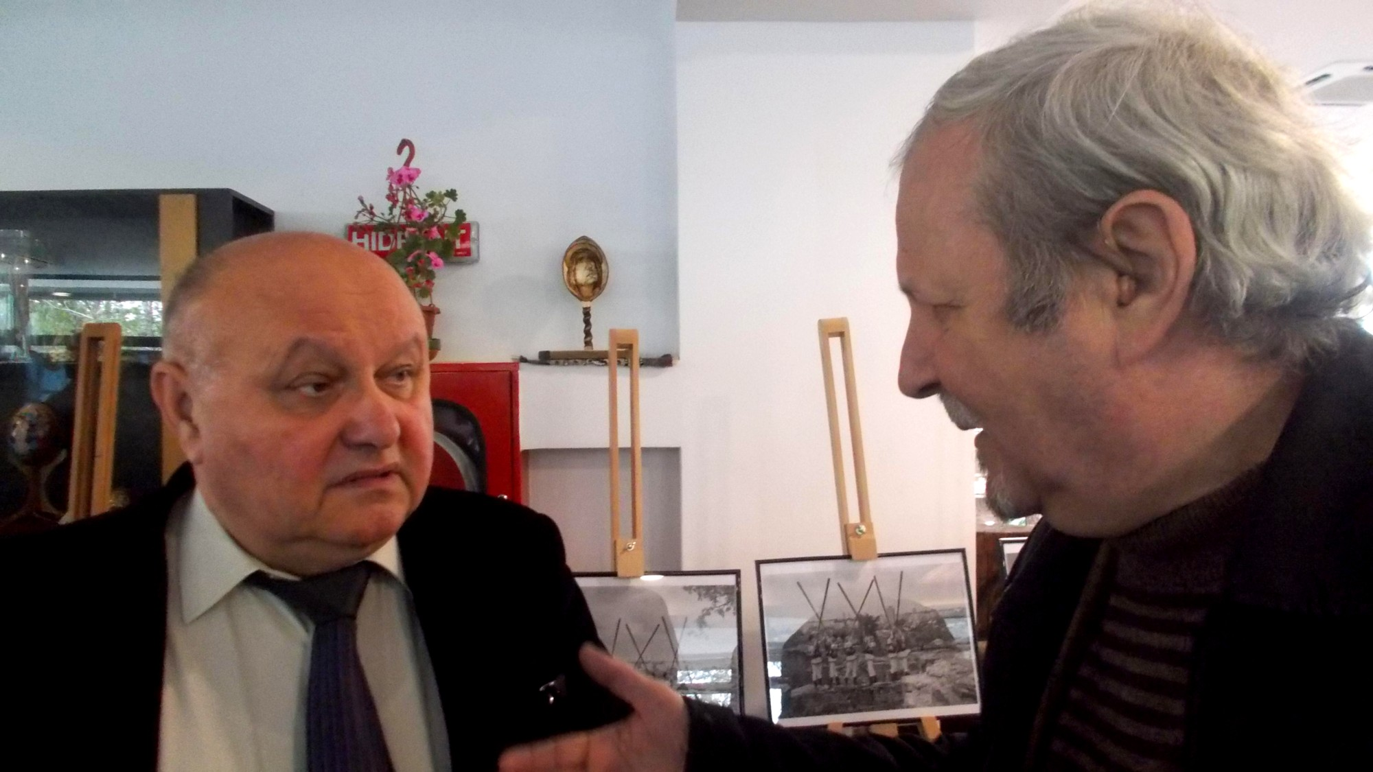Dumitru Teodorescu şi Roman Istrati