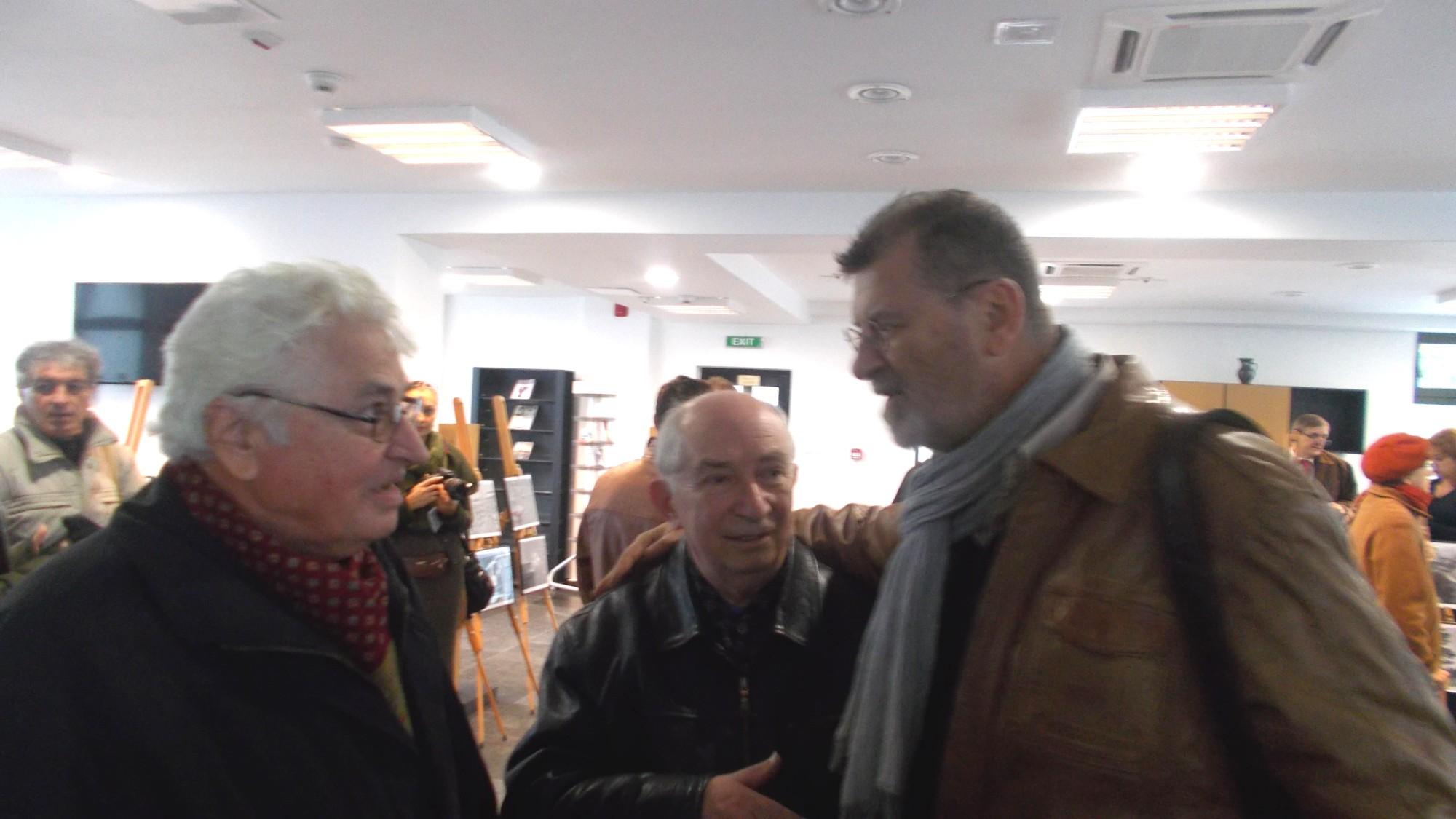 Ion Paranici, Costache Clement şi Mihai Pânzaru-PIM