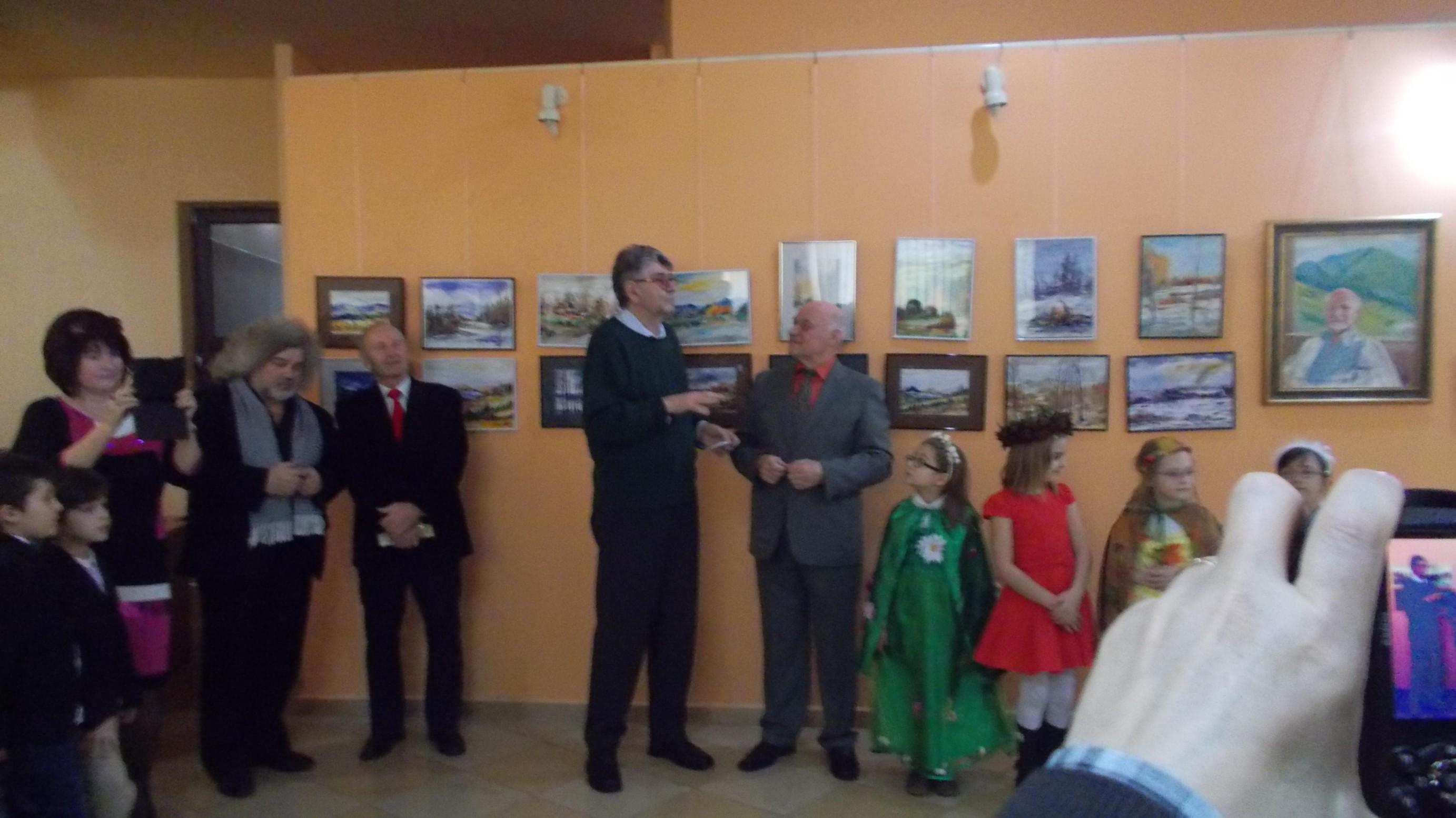 Ioan Bodnar omagiat de prieteni