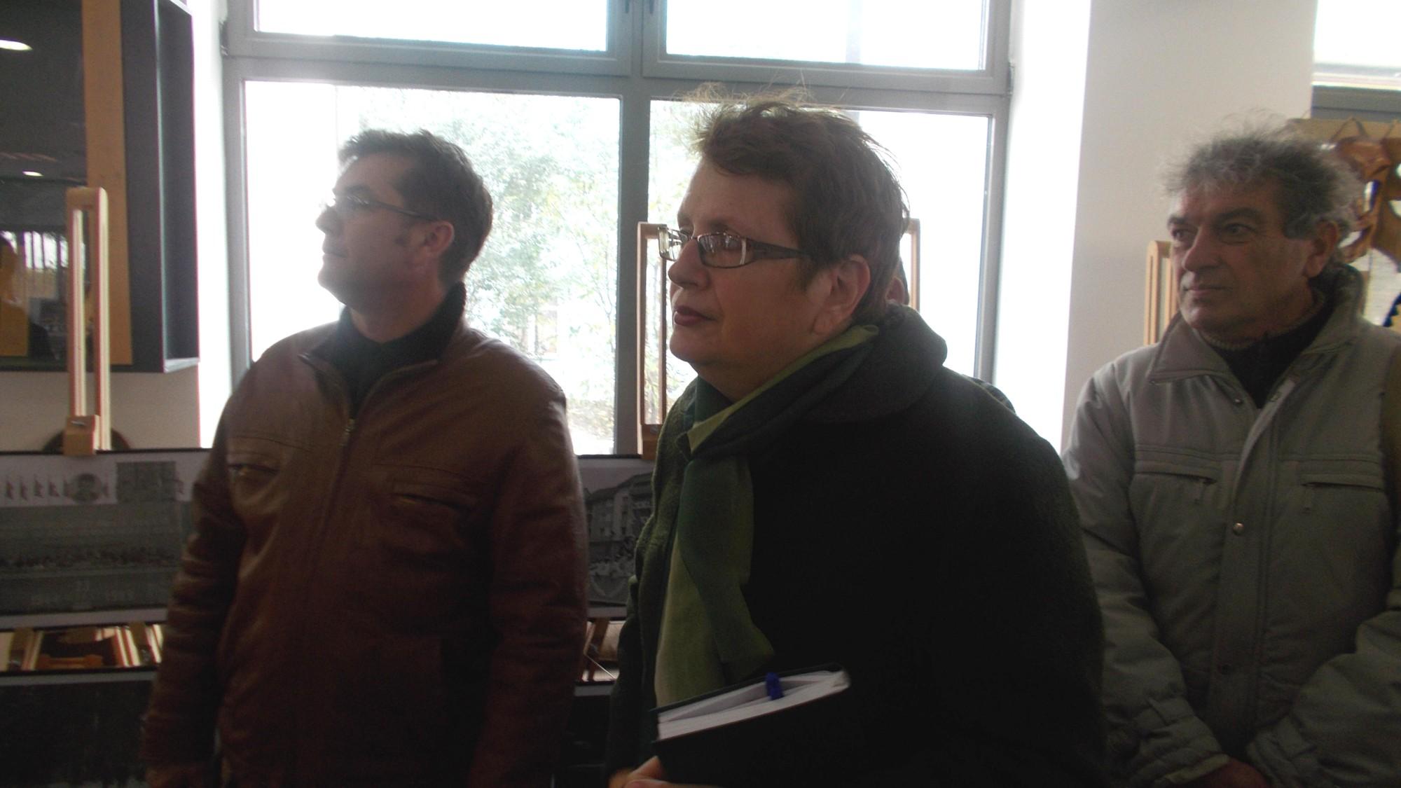 Călin Brăteanu, Magda Axon şi Constantin Horbovanu